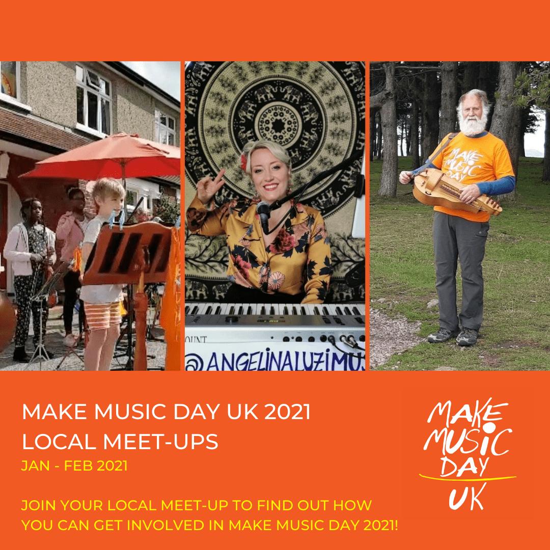 Make Music Day Meet Ups 2021