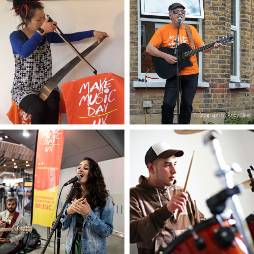 Read more about the article Be part of the Make Music Day UK 2021 Livestream Broadcast – Call now open!