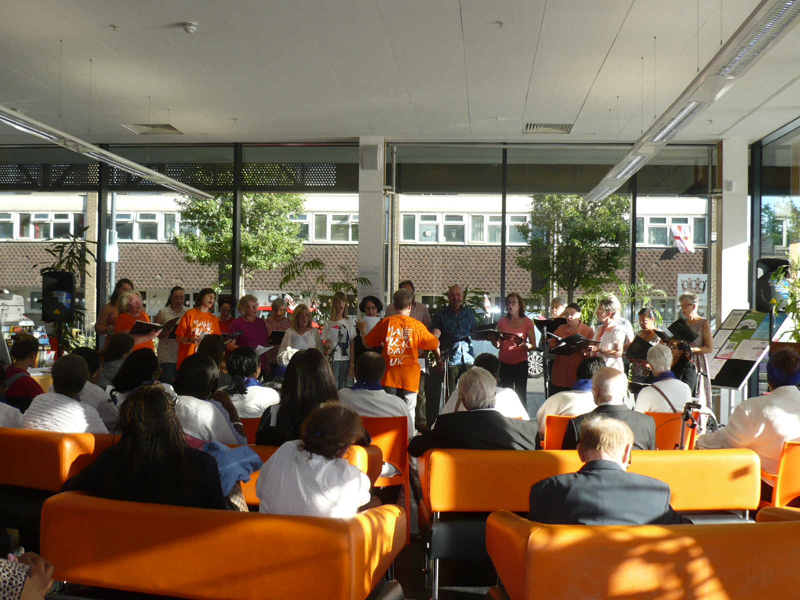 South London Choirs Sing In – or Out!